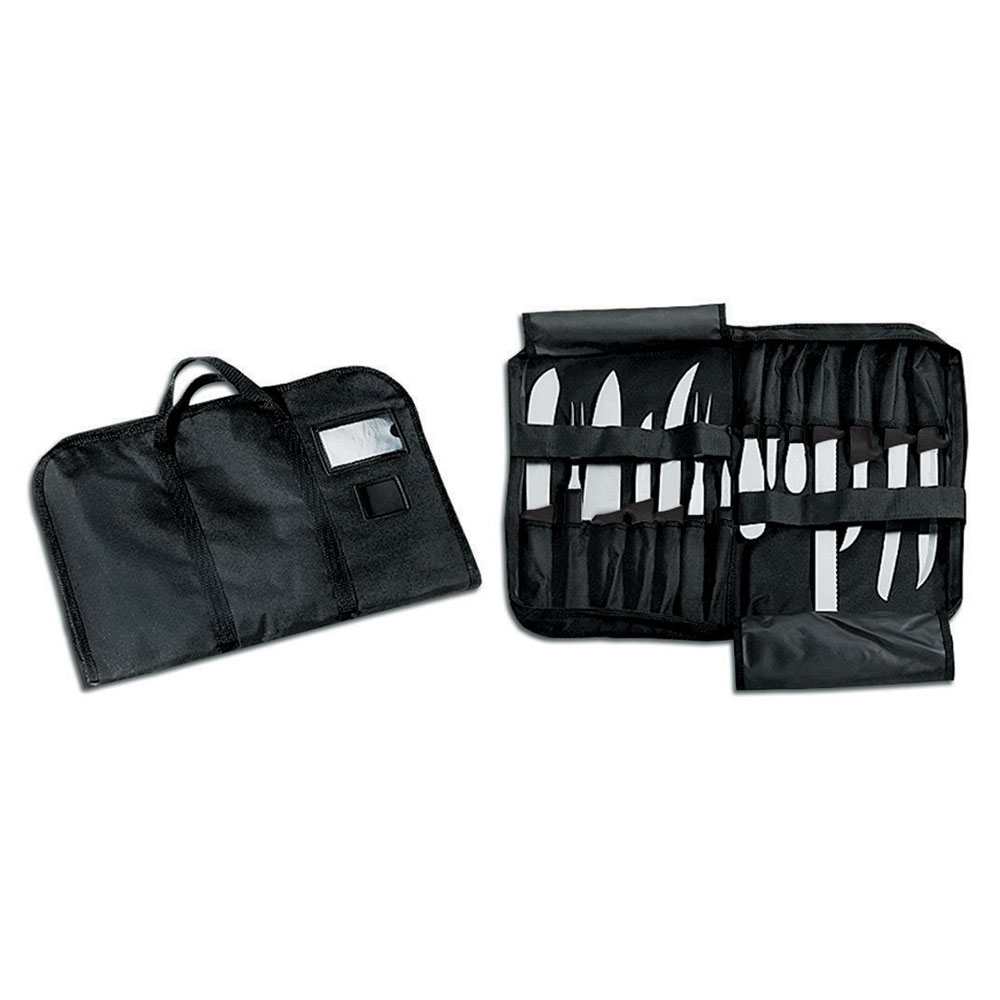 Dexter Russell CC2 Cutlery Case Only for 14-Pieces, Polyester w/ Velcro Straps