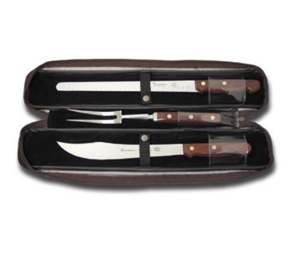 Dexter Russell 3351 Connoisseur Carving Set, 3 Piece, with Case