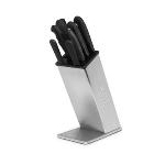 Dexter Russell SB-8 BLOCK ONLY Knife Block Only for up to 8-Knives, Stainless Steel
