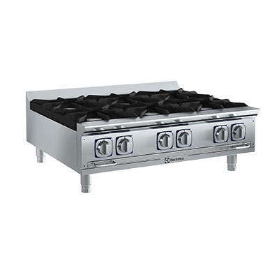 Electrolux 169002 NG 36-in  Countertop Boiling Top Hot Plate, Stainless, NG