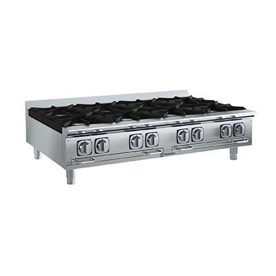 "Electrolux 169104 LP 48""  Countertop Boiling Top Hot Plate, Stainless, LP"