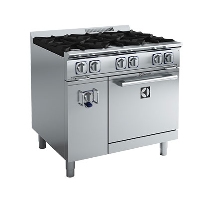 "Electrolux 169005 36"" 6-Burner Gas Range, LP"