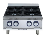 Electrolux 169035 NG 24-in Hotplate w/ Manual Controls, Stainless, NG