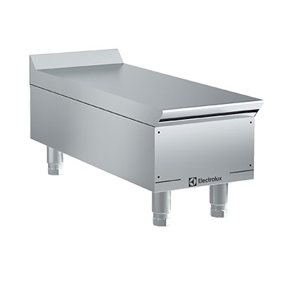 Electrolux 169063 12-in Restaurant Range Worktop, Stainless