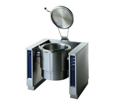 Electrolux 583396LP Tilting Kettle 40 Gal Full Jacket Motor Tilt SS Liner 92,043 BTU LP Restaurant Supply