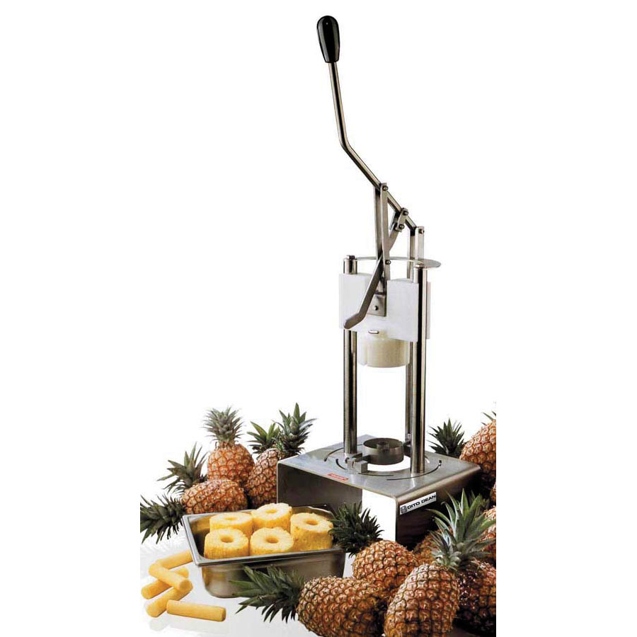 "Electrolux 601570 Pineapple Peeler Corer -  Manual, 3.5"" Blade, Pusher, Stainless Steel"