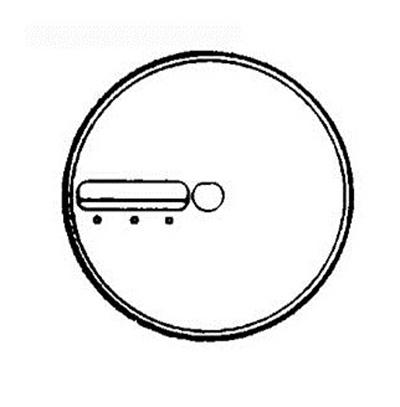 "Electrolux 653006 .16"" Julienne Blade - ED4"