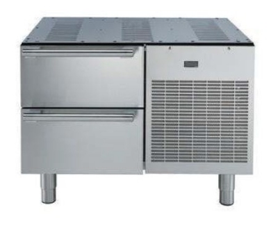 "Electrolux 727094 36"" Refrigerated Freezer Chef Base, Stainless, 120v"