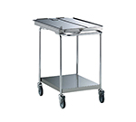 "Electrolux 922042 24"" x 40"" Stationary Equipment Stand for 62 & 102 Ovens, Undershelf"
