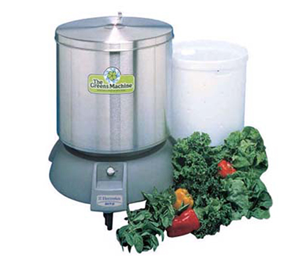 Electrolux 601559 Vegetable Dryer w/ 20-gal Capacity & Adjustable Timer, Stainless