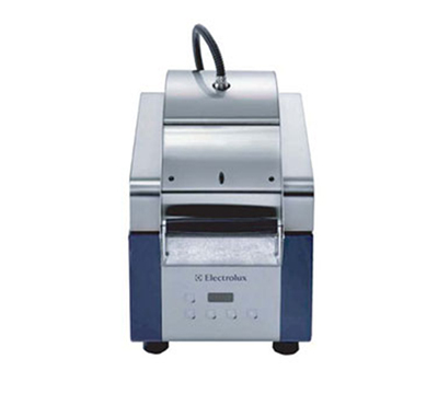 Electrolux 603691 High Speed Sandwich Press w/ Ribbed Top Plate & Smooth Quartz Bottom