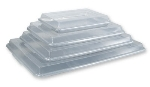 Crestware SPC913 Snap On Sheet Pan Cover, 9 x 13 in, Plastic, Clear