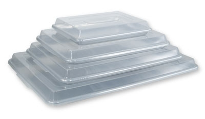 Crestware SPC1813 Snap On Sheet Pan Cover, 18 x 13 in, Plastic, Clear