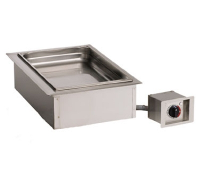 Alto Shaam 100-HW/D4 120 Drop-In Hot Food Well Unit, (1) Full-Size Pan, Stainless, 120v