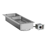 Alto Shaam 100-HW/D643 120 Drop-In Hot Food Well Unit, (3) 1/3 & (1) Full-Size Pans, 120 V