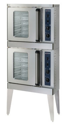 Alto Shaam 2-ASC-2E/STK/E Double Half Size Electric Convection Oven, 208v/1ph