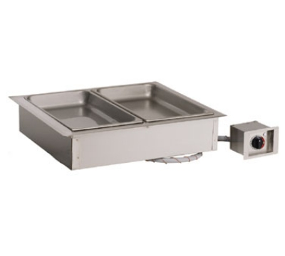 "Alto Shaam 200-HW/D6 2081 Drop In Hot Food Well Unit, 2-Full-Size 6"" Deep Pans, 208-240v/1ph"