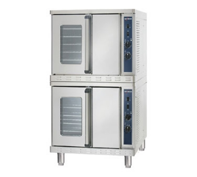 Alto Shaam 2-ASC-4E/STK Double Full Size Electric Convection Oven - 208v/1ph