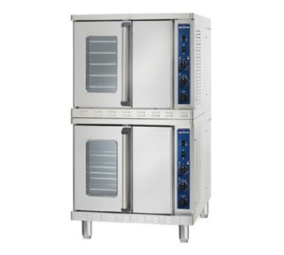 Alto Shaam 2-ASC-4G/STK Double Full Size Gas Convection Oven - NG