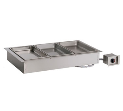 Alto Shaam 300-HW/D6 2081 Drop-In Hot Food Well Unit, 3-Full-Size 6-in Deep Pans, 208v/1ph