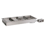 Alto Shaam 400-HW/D4 2301 Drop-In Hot Food Well Unit, 4-Full-Size 4-in Deep Pans, Export