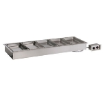 Alto Shaam 500-HW/D4 2301 Drop In Hot Food Well Unit, (5) Full-Size Pan, Stainless, Export