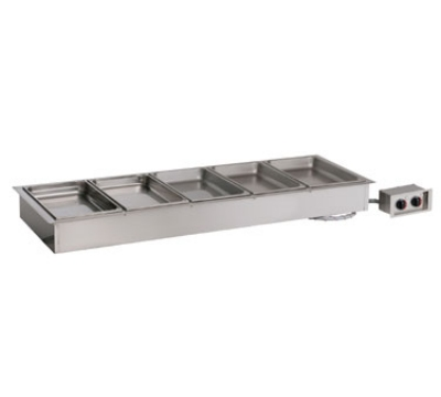 Alto Shaam 500-HW/D4 120 Drop In Hot Food Well Unit, (5) Full-Size Pan, Stainless, 120v