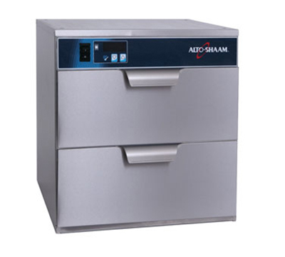 Alto Shaam 500-2DN 208 Narrow Warming Drawer w/ 50-Roll Capacity, Free-Standing, Stainless, 208-240/1 V