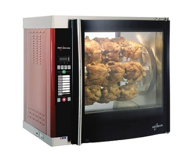 Alto Shaam AR-7E-DBLPANE 2081 Electric 7-Spit Commercial Rotisserie, 208v/1ph