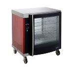 Alto Shaam AR-7H-SGLPANE 1/2-Height Mobile Heated Cabinet w/ (8) Pan Capacity, 208v/1ph