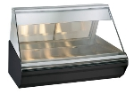 "Alto Shaam EC2-48/P-SS Self Serve Heated Display Case , 48"", Half Flat Glass, Stainless"