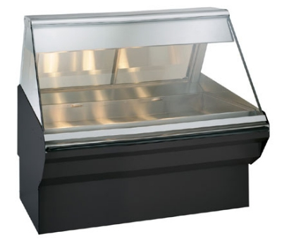Alto Shaam EC2SYS-48-BLK Full Service Heated Display Case, 48-in, Black