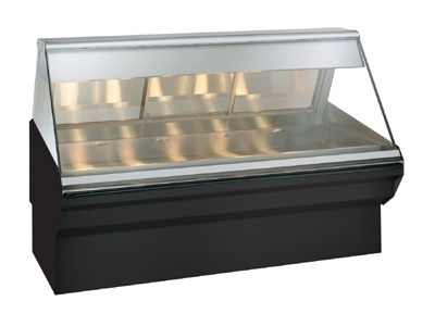 "Alto Shaam EC2SYS-72/P-BLK Self Service Heated Display Case, 72"", Black"