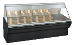 "Alto Shaam EC2SYS-96/PL-BLK Full & Self Service Heated Display Case, 96"", Black"