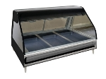 "Alto Shaam ED2-48/P-BLK Self Serve Heated Display Case, Countertop, 48"", Black"