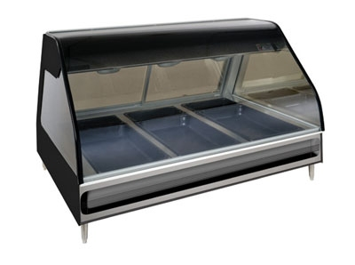 "Alto Shaam ED2-48/P-SS Self Serve Heated Display Case, 48"", Stainless"