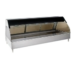 "Alto Shaam ED2SYS-72/PL-SS Full & Self Serve Display Case, European Base, 72"", Stainless"