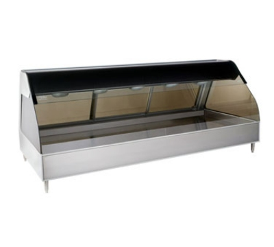 "Alto Shaam ED2SYS-72/P-SS Display Case w/ European Style Base, Self, 72"", Stainless"