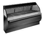 Alto Shaam ED2-72-BLK Full Service Heated Display Case, 72-in, Black Exterior