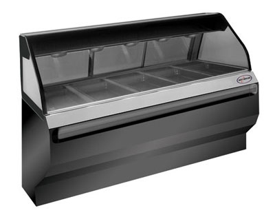 Alto Shaam ED2-72-SS Full Service Heated Display Case, 72-in, Stainless