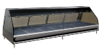 "Alto Shaam ED2-96/PR-BLK 96"" Dual-Service Countertop Heated Display Case - (7) Pan Capacity, 120v/208-240v/1ph"
