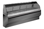 Alto Shaam ED2-96-BLK Full Service Heated Display Case, Countertop, 96-in, Black