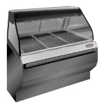 "Alto Shaam ED2SYS-48-SS Full Service Heat Display Case, European Base, 48"", Stainless"