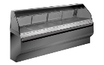 Alto Shaam ED2SYS-96/2SBLK 2081 2-Tier Display Case w/ European Style Base, 96-in, Black, Export