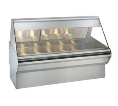 "Alto Shaam EC2SYS-72/PR-SS Full & Self Service Heated Display Case, 72"", Stainless"