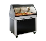 "Alto Shaam EU2SYS-48-BLK Full Service Hot Deli Cook Hold Display, 48"", Black"