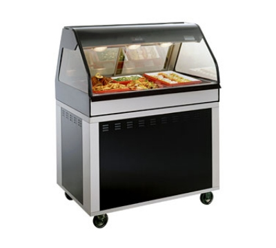 Alto Shaam EU2SYS-48-SS Full Service Hot Deli Cook Hold Display, 48-in, Stainless
