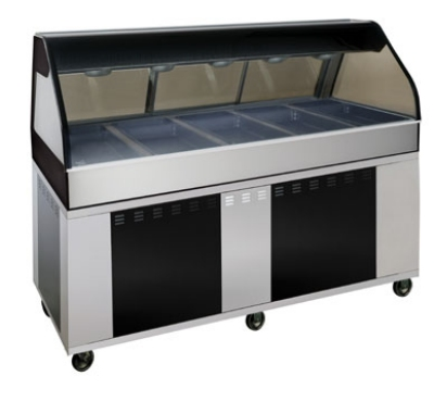 Alto Shaam EU2SYS-72/PR-SS Hot Deli Cook, 2-ft Self Serve Right Side, 72-in, Stainless