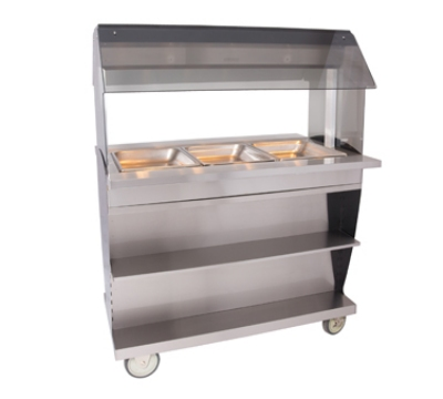 Alto Shaam HFT2SYS-300 2301 Hot Food Table w/ 48-in Width, Base, (3) 1/1 GN, Export