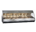 "Alto Shaam HN2-96/PR-SS Self Serve Heated Deli Display Case, Right Side, 96"", Stainless"